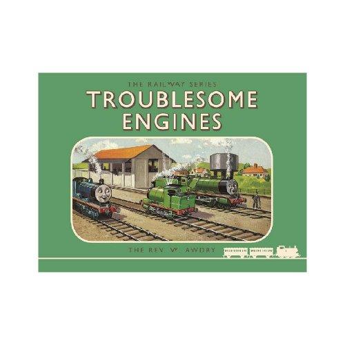 【生産終了品】【英語のえほん】Thomas the Tank Engine The Railway Series: Troublesome Engines  TO