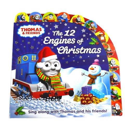 【英語のえほん】Thomas & Friends: The 12 Engines of Christmas  TO