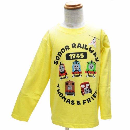 長袖Tシャツ(イエロー)110 941TM4011 TO