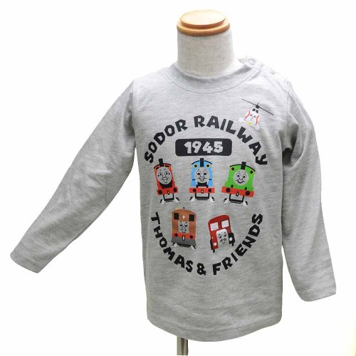 長袖Tシャツ(グレー)120 941TM4011 TO