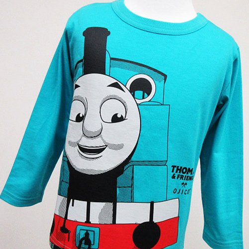 【OJICO】長袖Tシャツ(2019/ターコイズ)メンズM(165〜175cm)LT-1503-TQ-MM TO