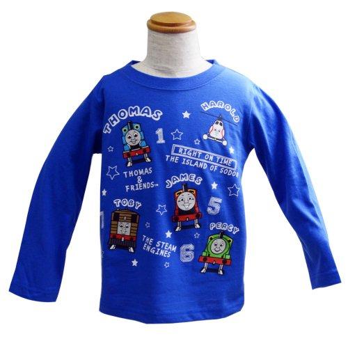 長袖Tシャツ(100)ブルー 943TM4011 TO