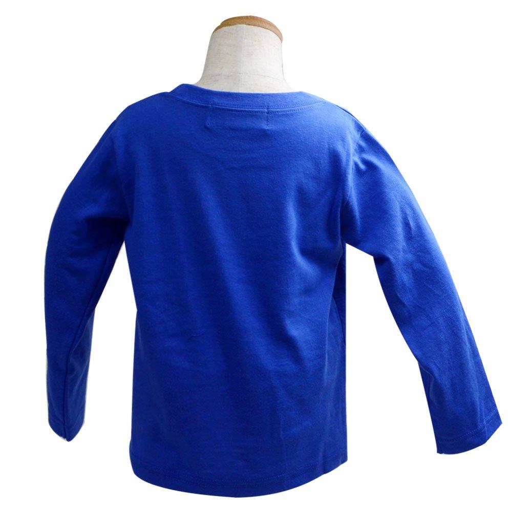 ピングー 長袖Tシャツ(110)ブルー 943TM4011 TO