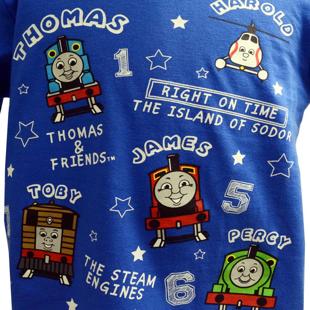 ピングー 長袖Tシャツ(120)ブルー 943TM4011 TO