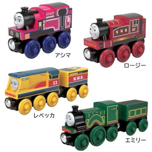 【木製レール限定セット】「女の子機関車」4点セット  TO