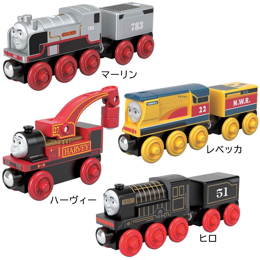 ピングー 【木製レール限定セット】「やさしくて頼りになる機関車」4点セット  TO