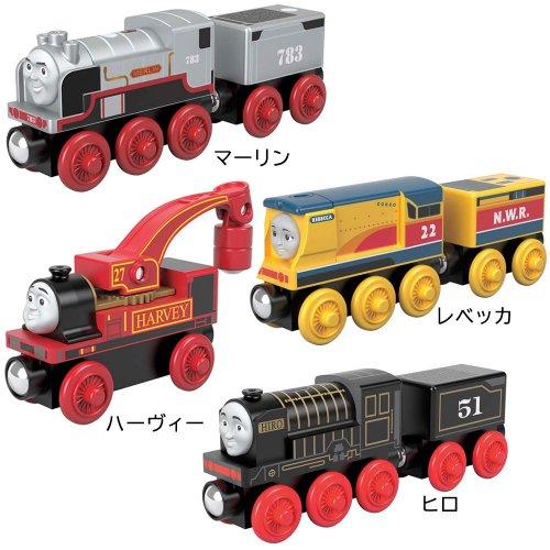 【木製レール限定セット】「やさしくて頼りになる機関車」4点セット  TO
