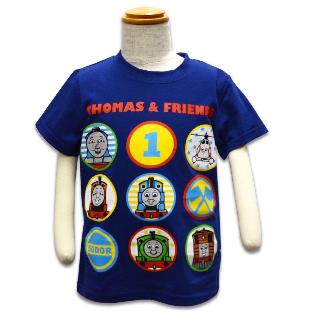 ピングー Tシャツ(ネイビー)100 042TM0021 TO