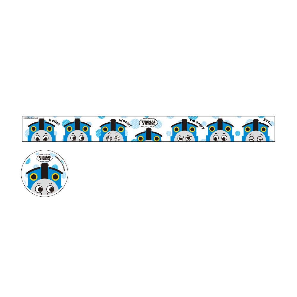 ピングー <img class='new_mark_img1' src='https://img.shop-pro.jp/img/new/icons11.gif' style='border:none;display:inline;margin:0px;padding:0px;width:auto;' />マスキングテープ(ブルードット)KT00004-32 TO