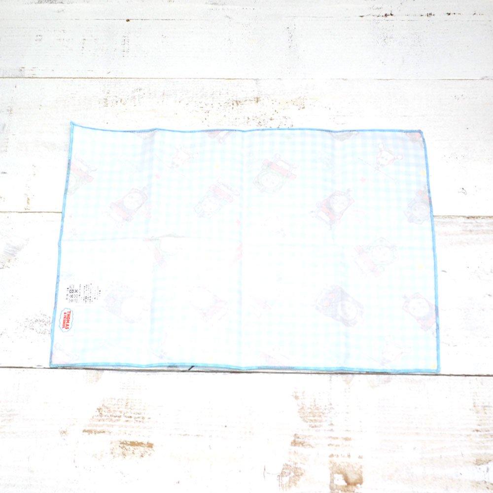 ピングー <img class='new_mark_img1' src='https://img.shop-pro.jp/img/new/icons11.gif' style='border:none;display:inline;margin:0px;padding:0px;width:auto;' />巾着ランチ(コットンキルトシリーズ)サックス HTO2-1400 TO