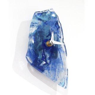 ガラスアート時計・「水辺にて」