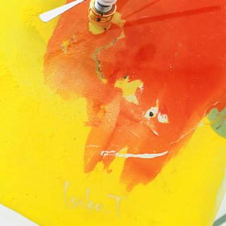 ガラスアート時計・「SUMMER DAY」