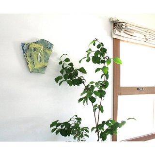ガラスアート時計・「月光」