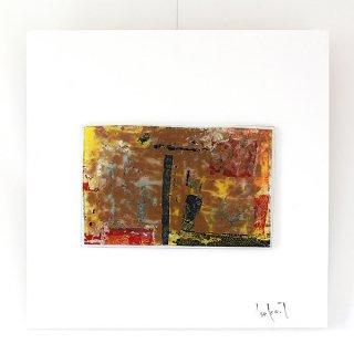 アートガラスパネル・「街の喧騒、ニューヨークにて」