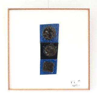 アートガラスパネル「まる・まる・しかく」