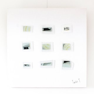 アートガラスパネル「失われた時間」