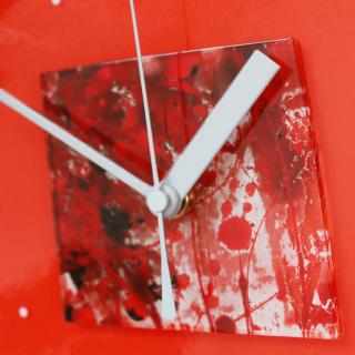 ガラスアート時計「Hanabi」