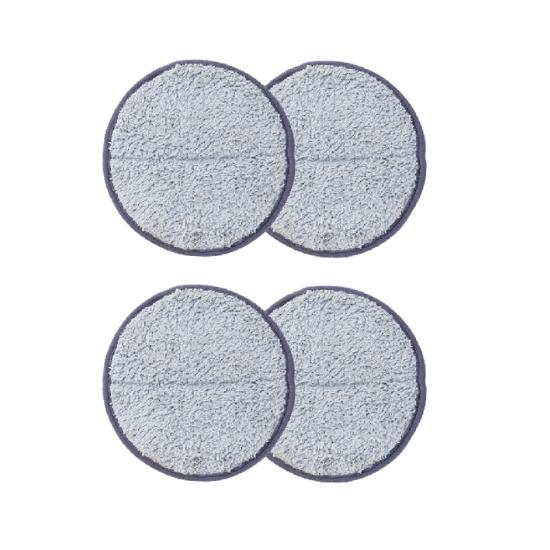 交換用モップパッド グレー (コードレス回転モップクリーナー用)