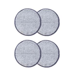 交換用モップパッド グレー2セット (回転モップクリーナー用)