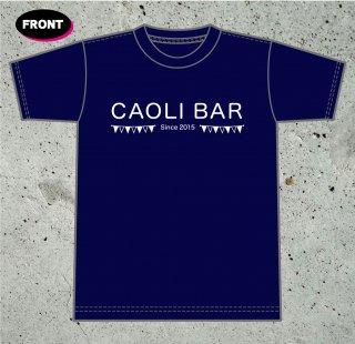 CAOLI BAR Tシャツ(本体色:ネイビー)