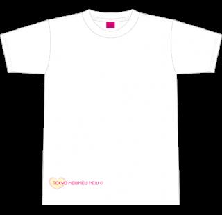 【参加者名:無し】東京ミュウミュウ にゅ〜♡声優アイドルオーディション イベント審査限定Tシャツ