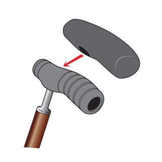 シリコン製杖のグリップカバー(SOFT-Gシリーズ専用)