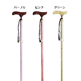 【軽量】カイノス 花ろまん伸縮杖(日本製)