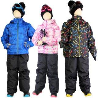 スキーウェア キッズ ジュニア 上下 セット VAXPOT(バックスポット) 子供 スキー ウエア 上下セット VA-2030【耐水圧 2000mm 撥水加工 雪遊び ウエア キッズ】