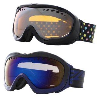 スノーボード スキー ゴーグル レディース メンズ VAXPOT(バックスポット) スキーゴーグル スノーボードゴーグル VA-3608【ダブル ミラーレンズ 球面レンズ 曇り止め UVカット】