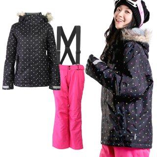 スキーウェア レディース 上下セット VAXPOT(バックスポット) スキー ウェア 上下 セット VA-2019【耐水圧 5000mm 撥水加工 透湿 3000g ジャケット パンツ 女性用】