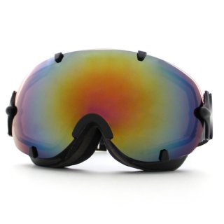 スノーボード スキー ゴーグル 全面 レンズ レディース メンズ VAXPOT(バックスポット) スキーゴーグル スノーボードゴーグル VA-3613【ダブル ミラー 球面 曇り止め UVカット】