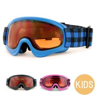 スノーボード スキー ゴーグル キッズ ジュニア VAXPOT(バックスポット) スノーボードゴーグル スキーゴーグル VA-3612【ダブルレンズ 球面レンズ 曇り止め UVカット スノボ 子供用】