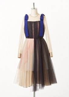 Soft tulle layered dress