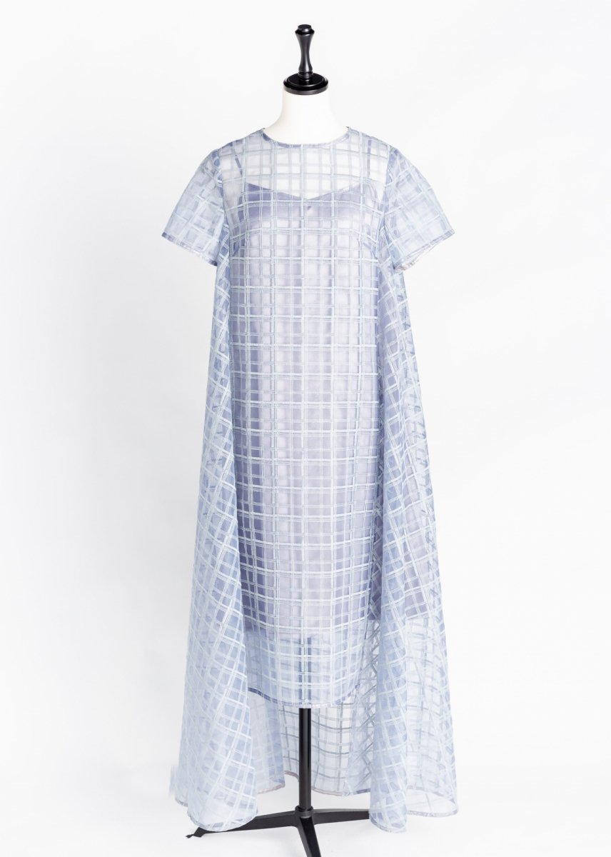 Long flare dress
