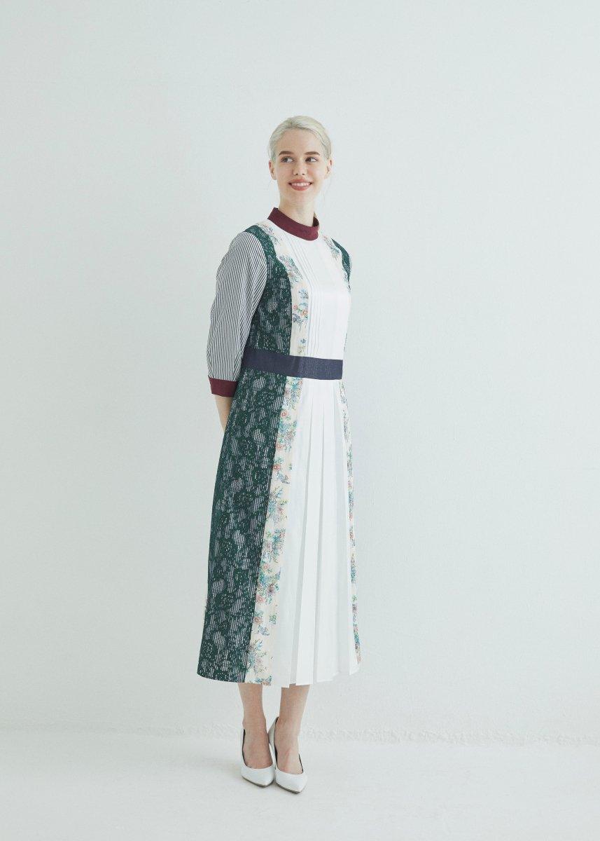 Patchworked dress