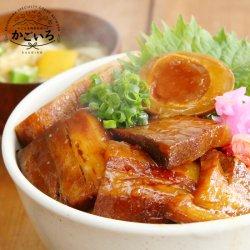 """自宅でお手軽""""黒豚三昧丼3食セット"""""""