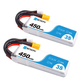 450mAh 3S 75C Lipo Battery (2PCS)
