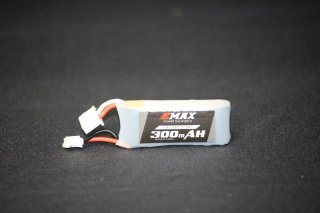 EMAX 2s 300mAh LiPo 35C with PH2.0 Connector for Tinyhawk S