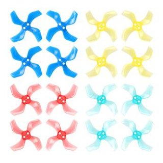 Betafpv 16X Gemfan 40mm 4-Blade Propellers (1.0mm Shaft/4color)