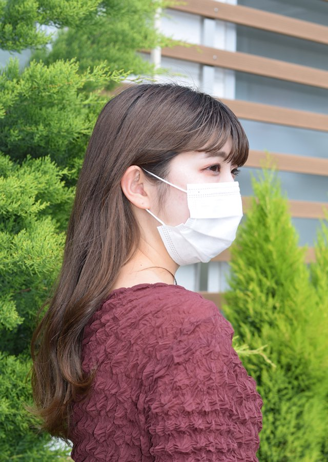 三層構造 不織布マスク