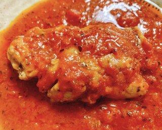 【お取り寄せ】カチャトラ風トマト煮・自家製ガーリックトースト
