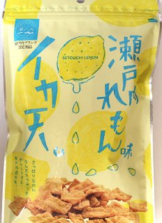 いか天瀬戸内レモン味80g
