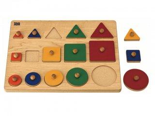 TAG 比べて理解する形のパズル