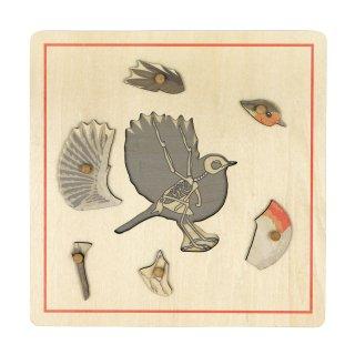 スケルトンのパズル(鳥)