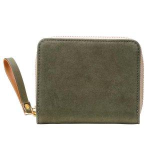 TUTUMU Nubuck Z compact Wallet【豊岡財布】