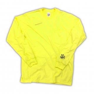 Neon yellow summertime long sleeve T-Shirt