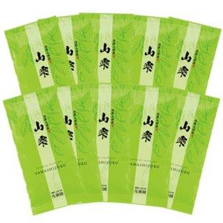 抹茶入煎茶 山雫80g平袋(10袋まとめ買い)
