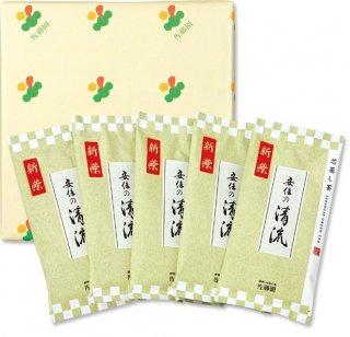 【新茶】【贈答】安倍の清流100g平袋(化粧箱入5袋)