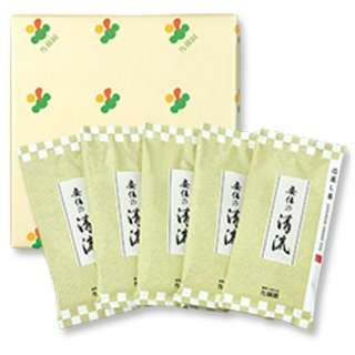 【贈答用】安倍の清流100g平袋(箱入5袋)