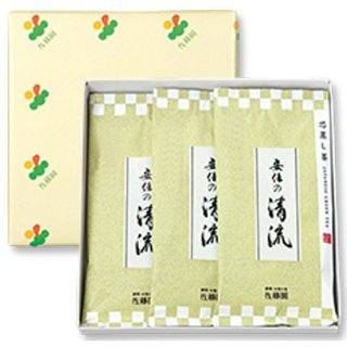 【新茶】【贈答用】安倍の清流100g平袋(化粧箱入3袋)